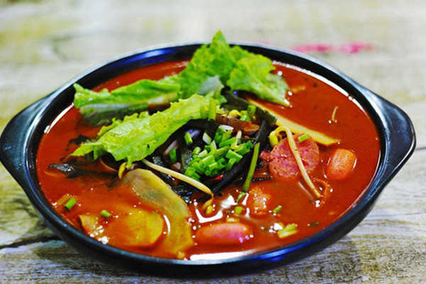 洪七公麻辣烫加盟菜品