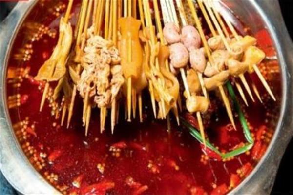 洪七公吃串串香