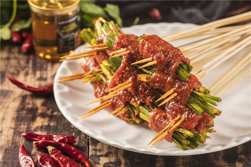 串串香店菜品